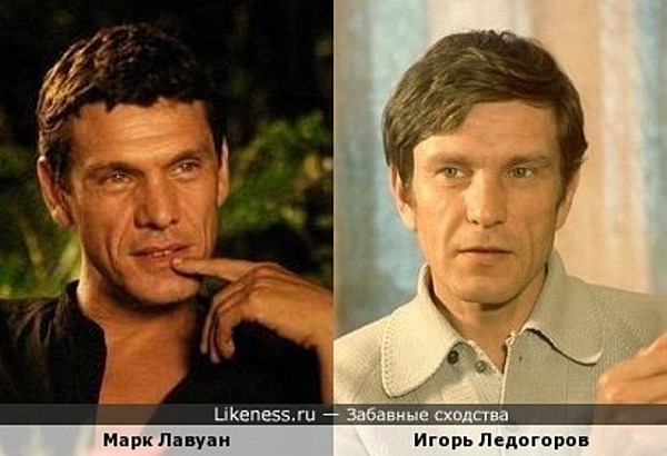 Марк Лавуан похож на Игоря Ледогорова