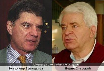 Владимир Брынцалов похож на Бориса Спасского