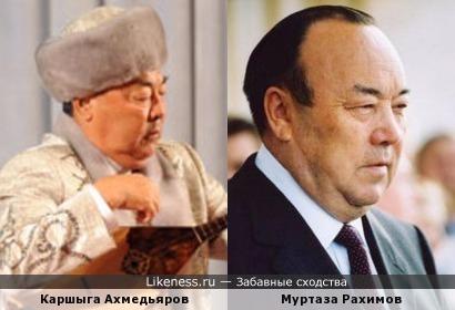 Виртуозный казахский домбрист похож на башкирского экс-президента