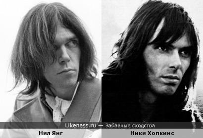 Два героя англоязычного рока...