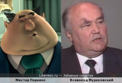 Персонаж мультфильма похож на заместителя председателя министров СССР