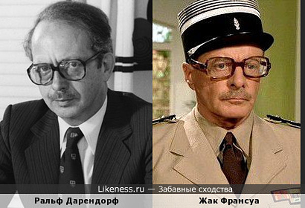 Ральф Дорендорф похож на Жака Франсуа