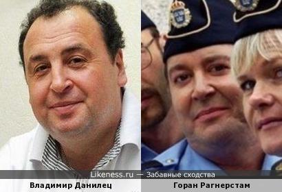 Украинский комик похож на югославского актёра...