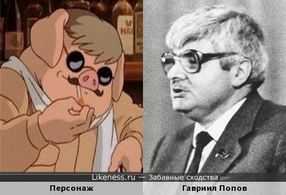 Персонаж мультфильма напоминает первого мэра Москвы...