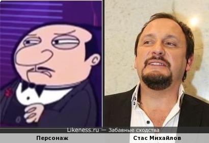 """Директор пиццерии из мультфильма """"Мистер Бин"""