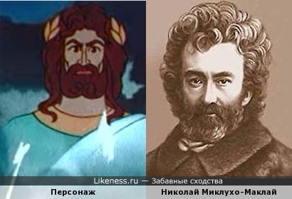 """Персонаж мультфильма """"Прометей"""