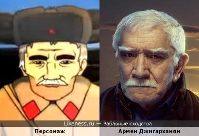 Персонаж мультфильма про Великую Отечественную Войну напоминает Армена Джигарханяна
