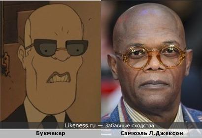 Персонаж мультфильма напоминает Самюэля Л.Джексона