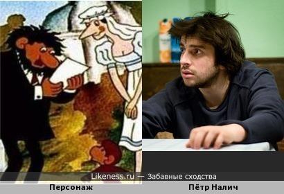 Персонаж мультфильма про обезьянок напоминает Петра Налича