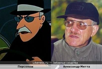 """Персонаж мультфильма """"Приключения Тинтина.Дело Турнесоля"""