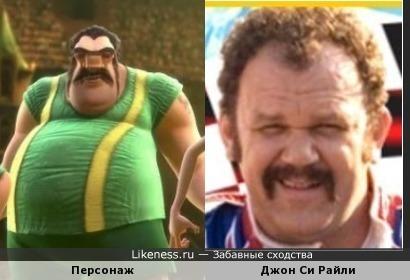 """Персонаж мультфильма """"Суперкоманда"""
