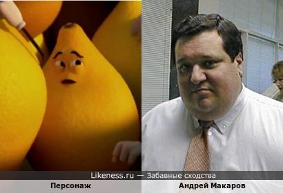 """Персонаж мультфильма """"Yellow Band"""