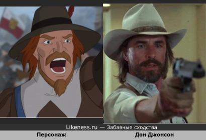 """Персонаж мультфильма """"Щитом и мечом"""