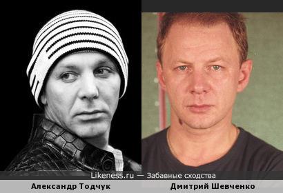 Александр Тодчук похож на Дмитрия Шевченко
