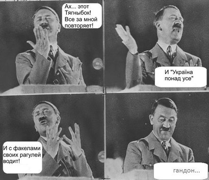 Тягнибок и Гитлер