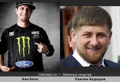 Рамзан Кадыров гонщик :-D