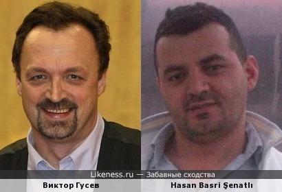 Хасан похож на известного российского коментатора Виктора Гусева