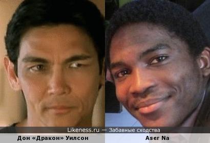 """Темнокожий камерунец напоминает мне актёра Дона """"Дракона"""