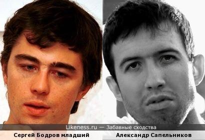 Санёк похож на Сергея Бодрова младшего