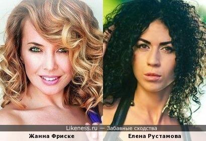Елена Рустамова похожа на мою любимую певицу Жанну Фриске