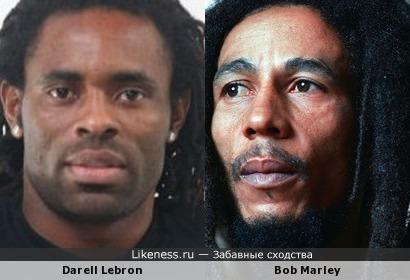 Дарелл похож на Боба Марли