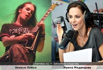 Алекси Лайхо и Ирина Медведева
