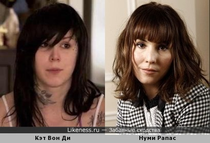 Кэт Вон Ди без макияжа похожа на Нуми Рапас