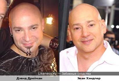 Дэвид Дрейман и Эван Хэндлер похожи