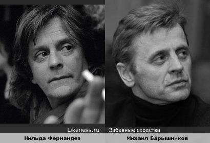 Нильда Фернандез и Михаил Барышников