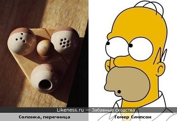 Этот набор похож на Гомера Симпсона