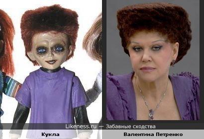 Похожие причёски сына Чаки и Валентины Петренко