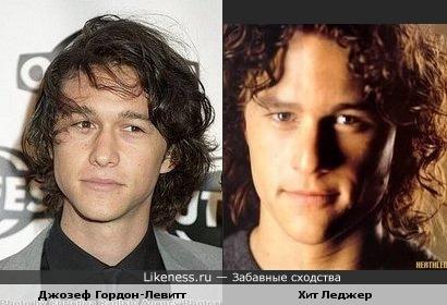 Сходства похожие знаменитости