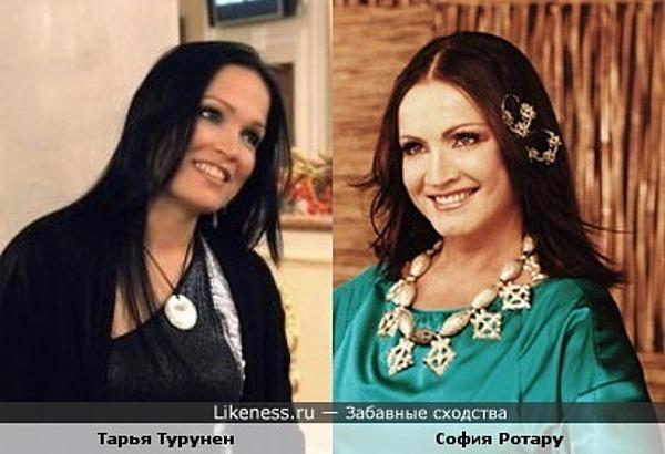 """Тарья Турунен (бывшая вокалистка """"Nightwish"""") похожа на Софию Ротару"""
