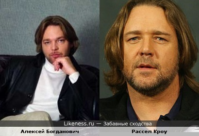 Украинский актер похож на Рассела Кроу