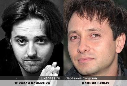Николай Клименко и Даниил Белых