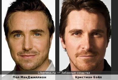 Пол МакДжиллион и Кристиан Бэйл