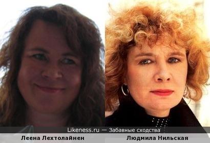 Писательница Леена Лехтолайнен напомнила Людмилу Нильскую
