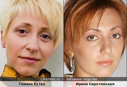 """Тамила Бутко (КВН """"Девчонки из Житомира"""") напомнила актрису Ирину Сиротинскую"""