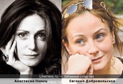 Анастасия Немец напомнила Евгению Добровольскую