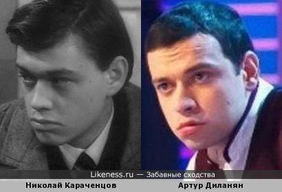 Молодой Караченцов напомнил Артура Диланяна (КВН Городъ Пятигорскъ)