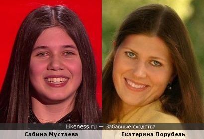 победительница Голос.Дети-2 Сабина Мустаева напомнила Екатерину Порубель