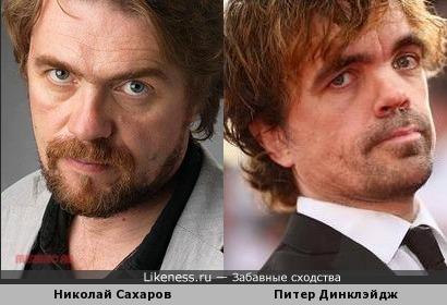 Николай Сахаров напомнил Питера Динклэйджа