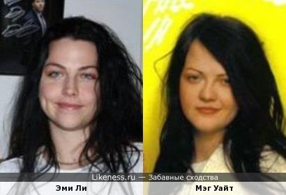 Эми Ли похожа на Мэг Уайт