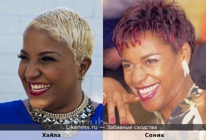 Кубинская певица Хайла похожа на Соник