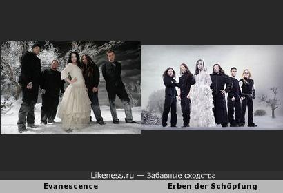 """Схожие фотосессии: """"Evanescence"""