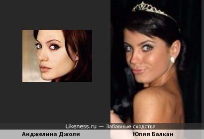Экс-участница Дом-2 похожа на голливудскую актрису Анджелину Джоли