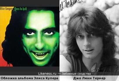 Чувак с обложки альбома Элиса Купера напомнил Джо Линн Тернера