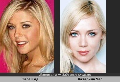 словенская модель и актриса Катарина Час напомнила актрису Тару Рид