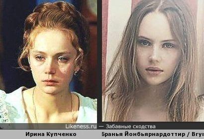 исландская модель Бранья Йонбьярнардоттир напомнила актрису Ирину Купченко