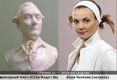 """Анна Уколова напоминает чертами лица """"портрет неизвестного"""